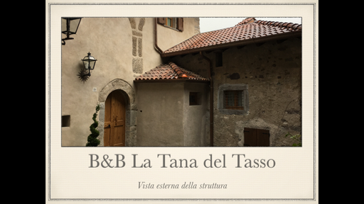B&B La Tana dei Tasso