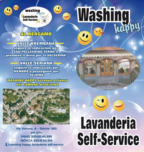 Servizi e studi professionali Val Brembana-lavanderia self-service
