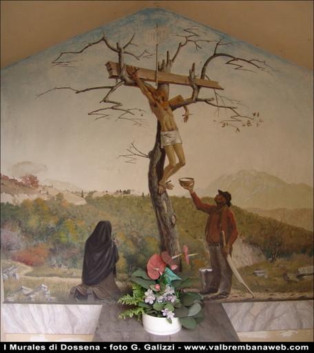 Punti d'interesse Val Brembana-visita Murales di Dossena