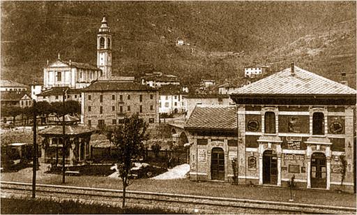 Punti d'interesse Val Brembana-paesaggio piazza Rosmini