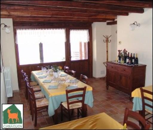 Locali di ristorazione Val Brembana-agriturismo 'Casa Eden'