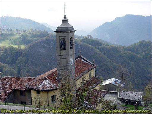 Punti d'interesse Val Brembana -  chiesa catremerio