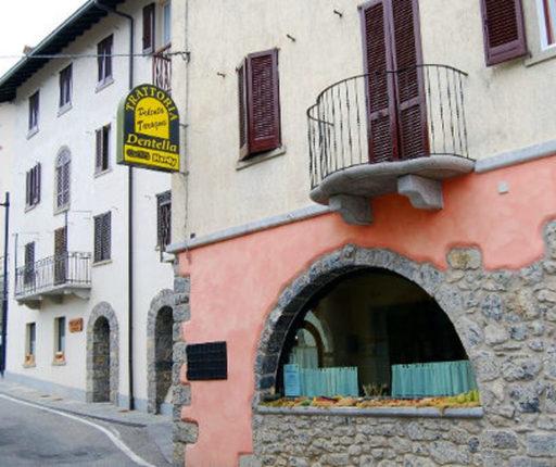 Locali di ristorazione Val Brembana-trattoria Dentella