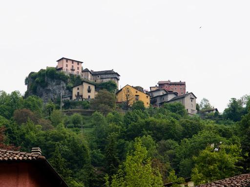 Punti d'interesse Val Brembana-ammira il paesaggio Rocca di Pizzino