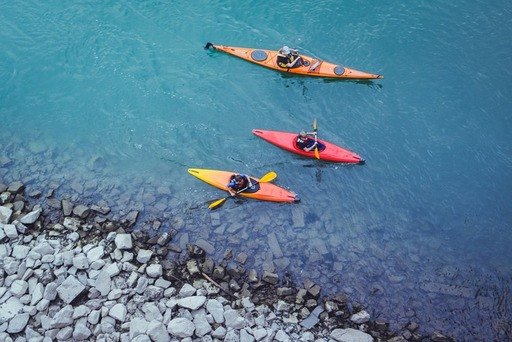 Pomeriggio in kayak