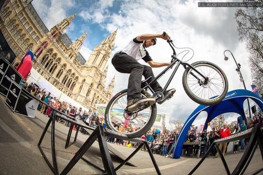 Spettacolo di Triale e Bike Trial