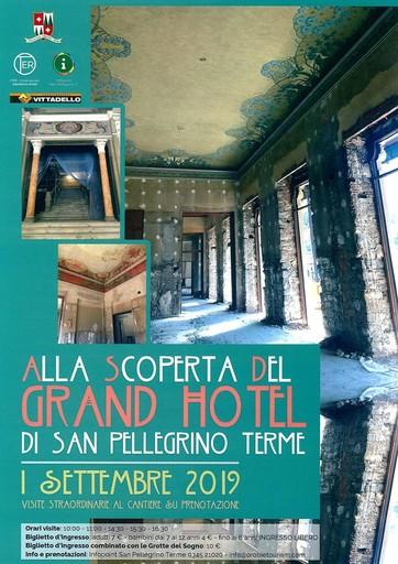 Visita al cantiere del Grand Hotel