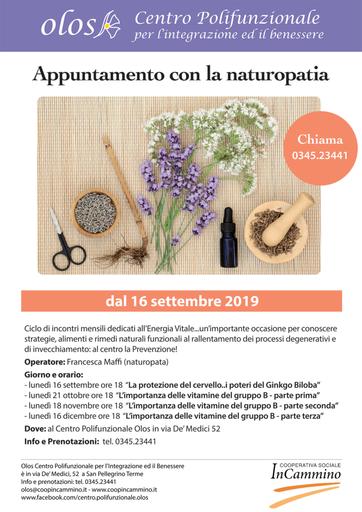 Eventi Val Brembana - Incontri Naturopata