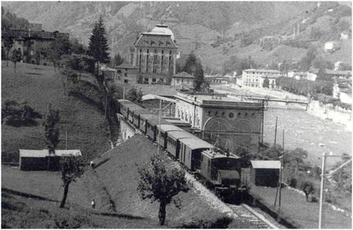 Proiezione foto Ferrovia