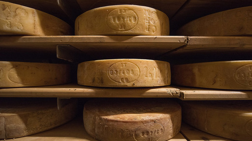 I formaggi della Val Brembana